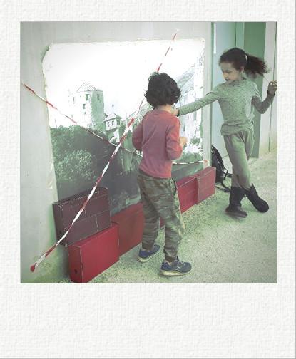 Break off the wall au Jardin Fatima Bedar à Saint Denis